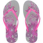 Butterfly Twists Skládací žabky Blossom Grey/Pink BT4001-002