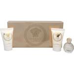 Versace Eros Pour Femme - parfémová voda 5 ml + sprchový gel 25 ml + tělové mléko 25 ml