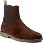 Kotníková obuv s elastickým prvkem GUESS - Braxton FMBRA4 SUE10 DBROW