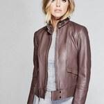 Guess by Marciano Kožená bunda Kiara Leather Jacket