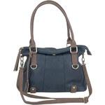 Rieker - Dámská objemná kabelka s přehybem a zipem H1135-14 / modrá