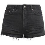 Topshop Short en jean black