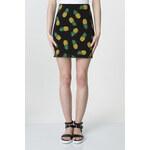 "Tally Weijl Black ""Pineapple"" Print Bodycon Skirt"