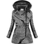 Šedý kabát V-1506