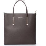 Luxusní dámská kabelka šedá - FLORA&CO Paris šedá