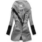 Dámský kabát Vouge šedý - šedá