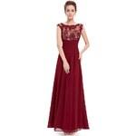 Dámské elegantní Ever Pretty plesové šaty červené 8441