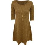 Made in Italy Jemné šaty plus řetízek