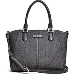 Kabelka Guess Tambako denim satchel black