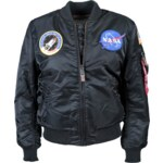 Alpha Industries MA-1 VF NASA Wmn Bomber Bunda