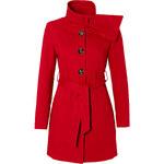 BODYFLIRT Mantel langarm figurbetont in rot für Damen von bonprix