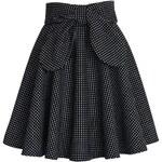 CHICWISH Dámská sukně Zima černá