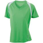 James & Nicholson Dámské běžecké tričko s krátkým rukávem JN396