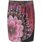Černá vzorovaná sukně Desigual Yeila