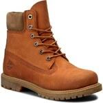 Turistická obuv TIMBERLAND - 6 In Premium Boot A18NU Orange