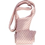 Requisite Spot Tie Ladies, bubblegum/navy