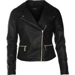 Rock and Rags Paris Biker Jacket, black