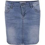 Světle modrá džínová sukně Vero Moda Be Lea