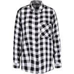Černo-bílá kostkovaná košile Haily´s Alina