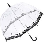 Průhledný deštník s panoramatem Berlína Lindy Lou Skyline