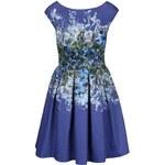 Modré šaty se vzorem Closet