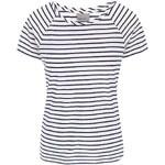 Krémové pruhované tričko Vero Moda Ester