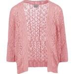 Růžový tříčtvrteční cardigan Vero Moda Mally