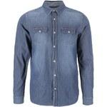 Modrá džínová košile Jack & Jones Retro
