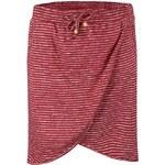 Červená pruhovaná sukně Ragwear Naila