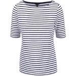 Modro-bílé dámské pruhované tričko se vzorem Nautica