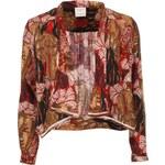 Červený květovaný blejzr Vero Moda Ani