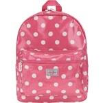Růžový dívčí batoh s bílými puntíky Cath Kidston