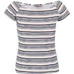 Bílo-modré pruhované tričko Dorothy Perkins Petite