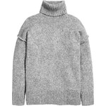 H&M Hrubě pletený svetr s rolákem