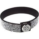 Šperky LAFIRA Style Černý třpytivý náramek Swarovski CAL 674