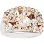 Šperky LAFIRA Style Dámský prsten Swarovski Bubble Gold 805
