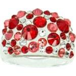 Šperky LAFIRA Style Dámský prsten Swarovski Bubble Light Siam 807