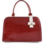 Červená kabelka Teodora