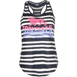 Lonsdale Yarn Dye Vest Ladies, navy/white