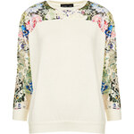 Topshop **Lace Tie Dye Sweater by Sister Jane