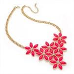 Růžový náhrdelník Ivy 29193