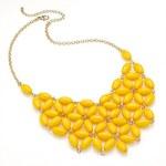 Žlutý náhrdelník Bright 29273