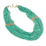 Zelený náhrdelník Demelza 29627