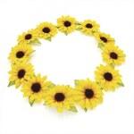 Žlutá čelenka Mabel 28562