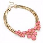 Růžový náhrdelník Petra 29218
