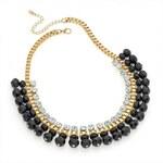 Černý náhrdelník Tina 29774