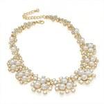 Bílý náhrdelník Quinn 29802