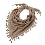Dámský hnědý šátek Rosana 29837
