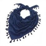 Dámský modrý šátek Rosana 29838
