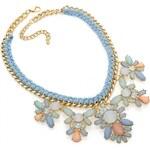 Modrý náhrdelník Luciana 30380
